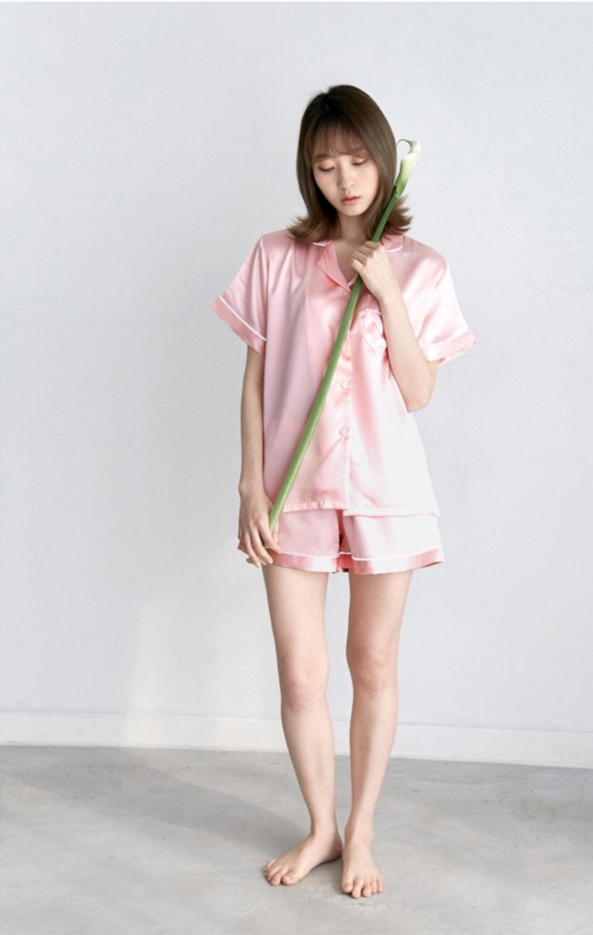 Silk PJs (Short Sleeves)