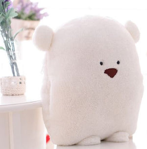 Polar Bear Pillow Blanket