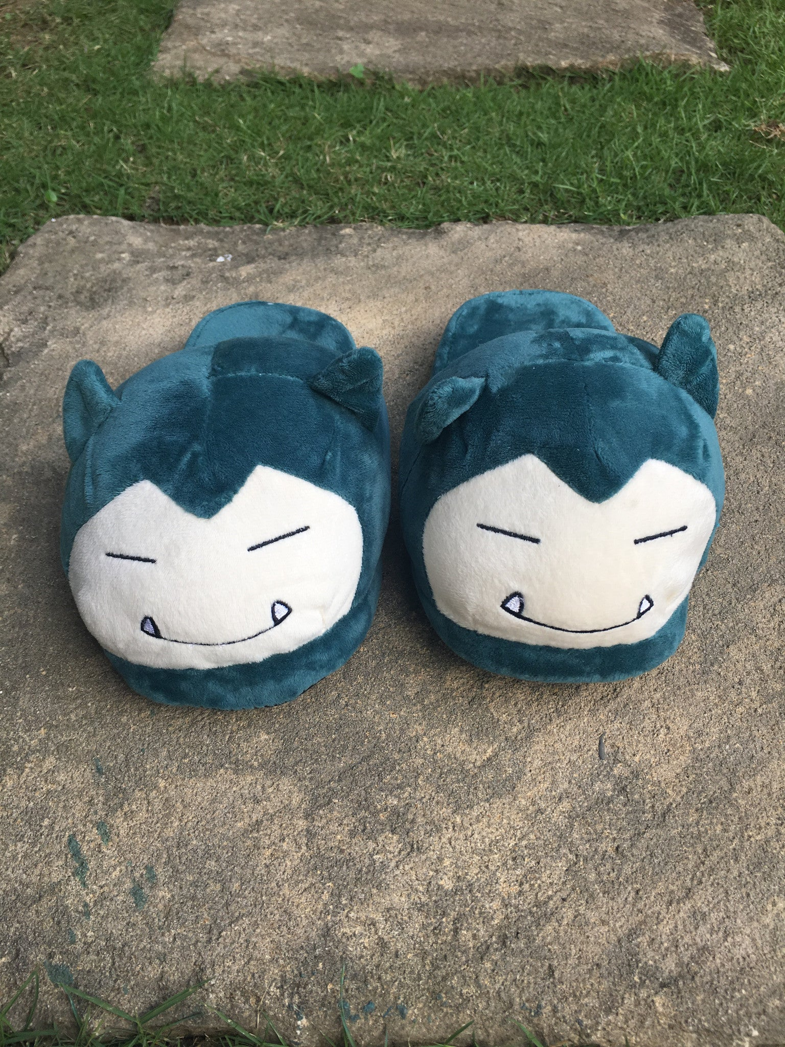 Snorlax Slippers
