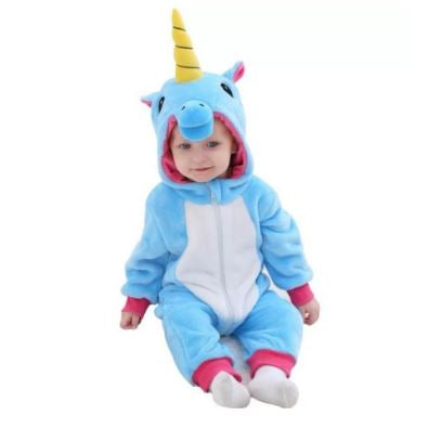 Blue Unicorn Baby