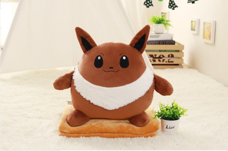 Eevee Pillow Blanket