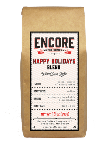 Happy Holidays Blend 2020