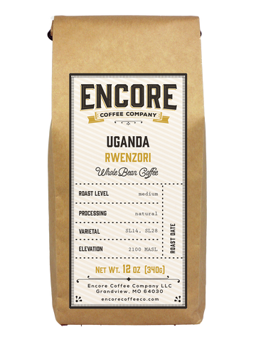 Uganda Rwenzori Natural Coffee