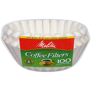 Melitta 4-6 Cup Jr Basket Coffee Filters - 200 Count