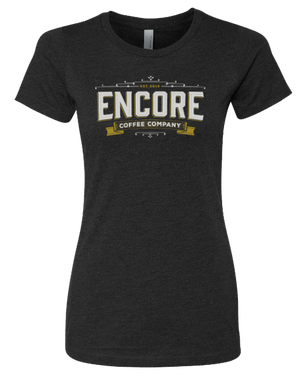 Women's Logo T-Shirt - Encore Coffee Company