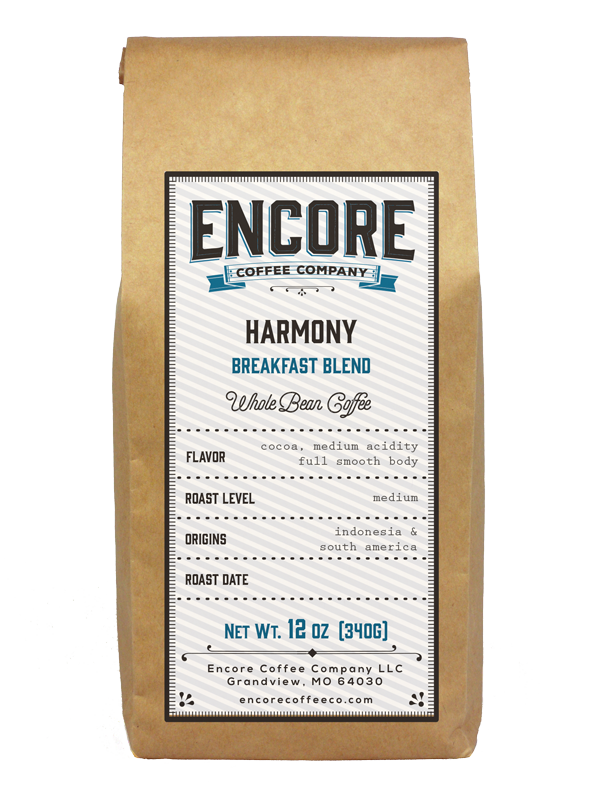 Harmony Breakfast Blend - Encore Coffee Company