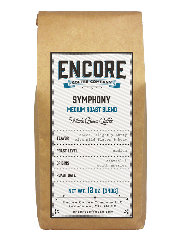 Symphony Blend - Encore Coffee Company
