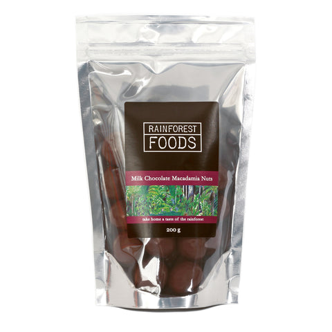 Milk Chocolate Coated Macadamia Nuts 200g