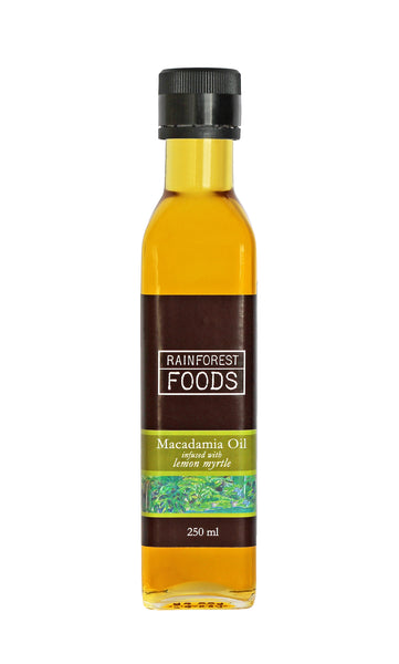 Lemon Myrtle Infused Macadamia Oil 250ml