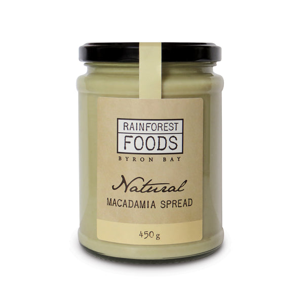 Natural Macadamia Spread 450g