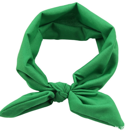 Solid bow tie headband Girls Kids Toddler Children Infant Baby Clothes 1738679b39f