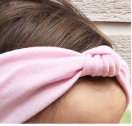 Solid knotted headband Girls Kids Toddler Children Infant Baby Clothes