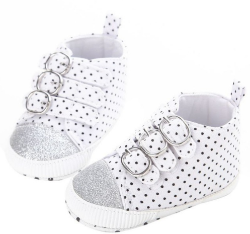 Ryder Black & White Polka Dot Sneaker