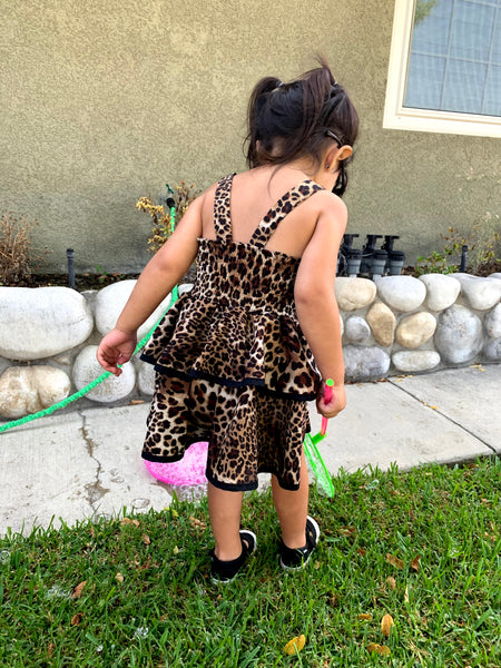 Vixen Animal Print Dress