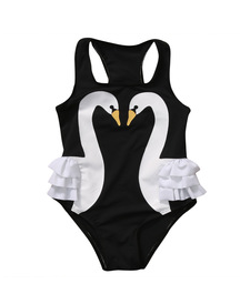Black Swan One Piece Swimsuit