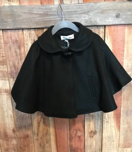 Audrey Black Cape
