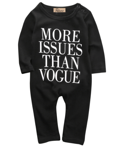 More Issues Than Vogue Black Jumpsuit