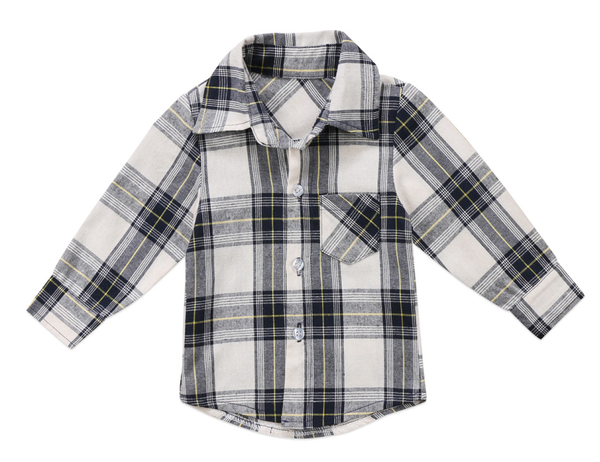 Ryry Plaid Button-down Top