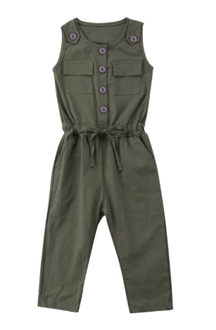 Oliver Sleeveless Jumpsuit