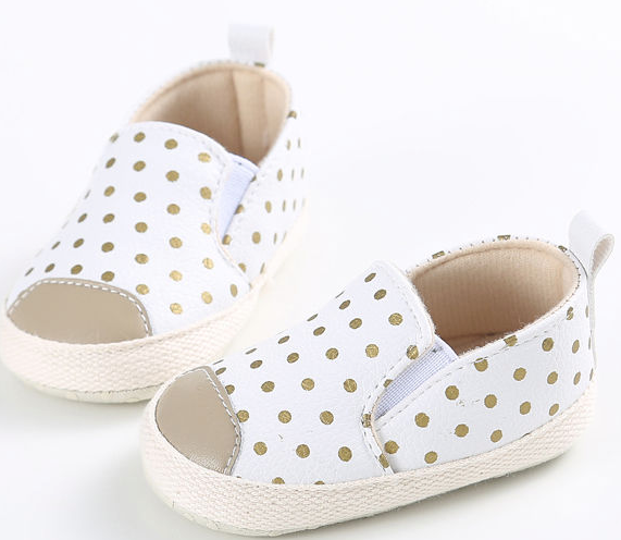 Spotty Dotty Slide On Shoes
