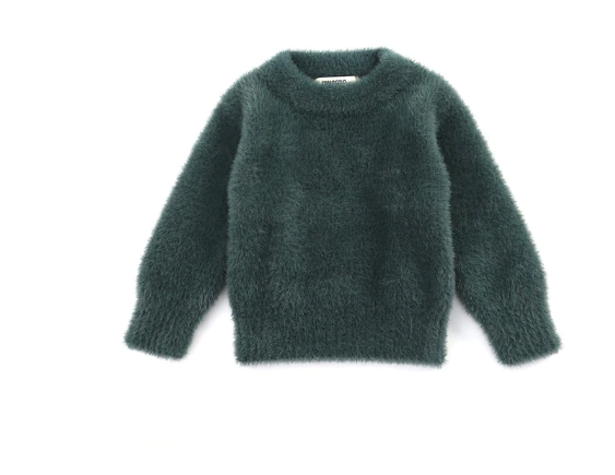 Riley Hairy Pullover Sweater