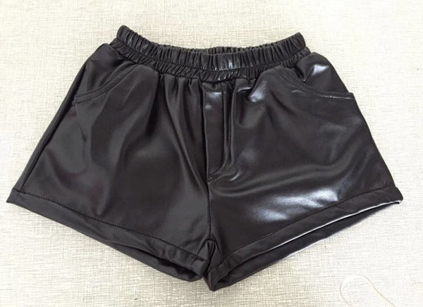 Riri Vegan Leather Shorts