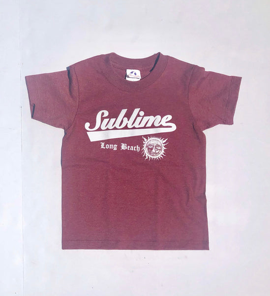 Sublime Tee (Burgundy)  final sale