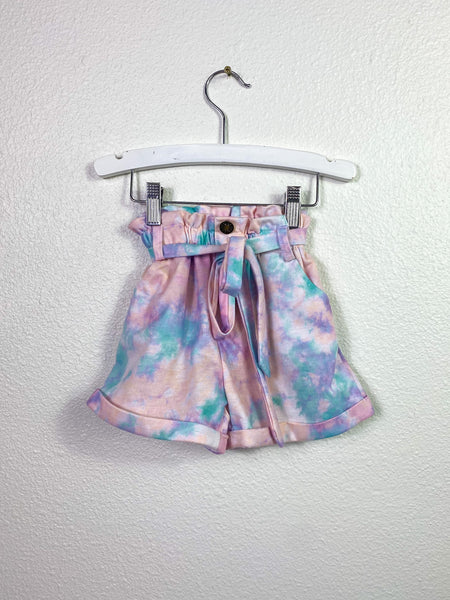 Cotton Candy High Waist Short