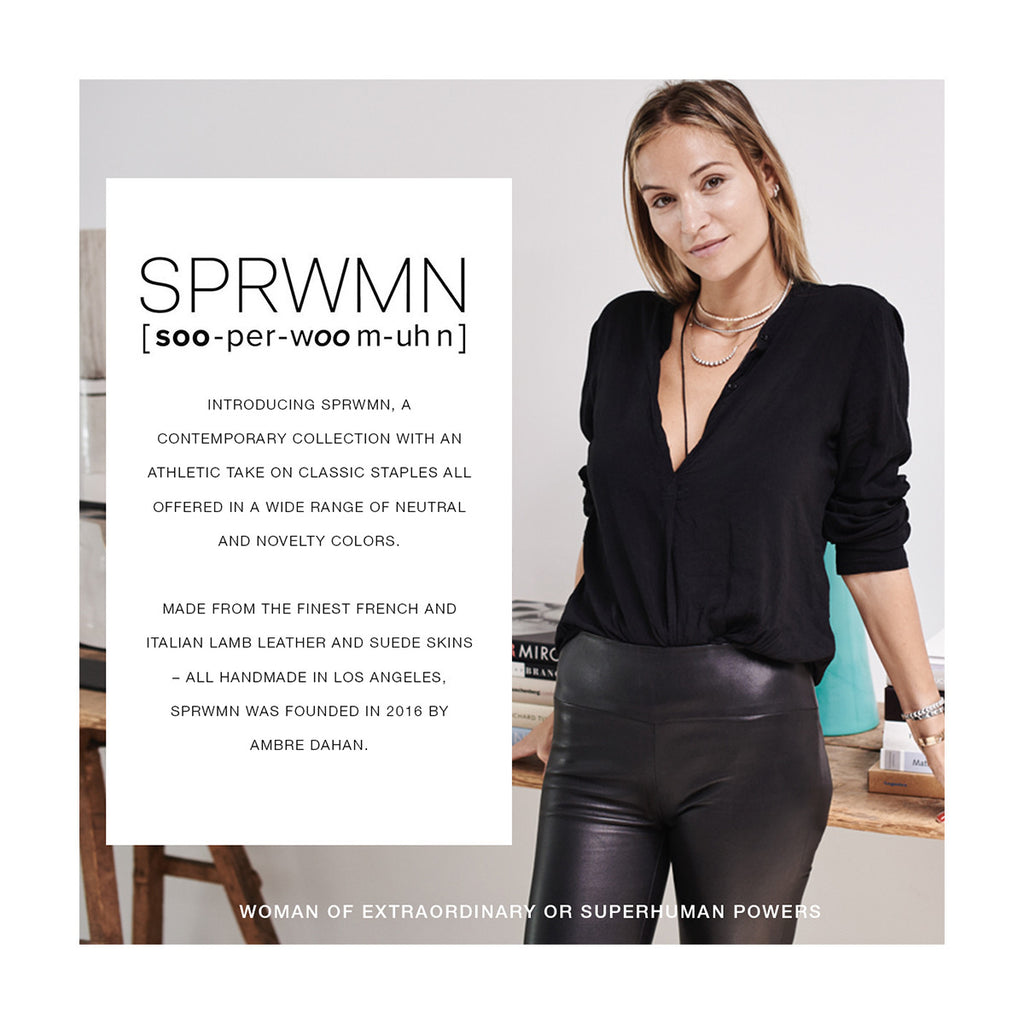 About SPRWN - Woman of Extraordinary or Superhuman Powers
