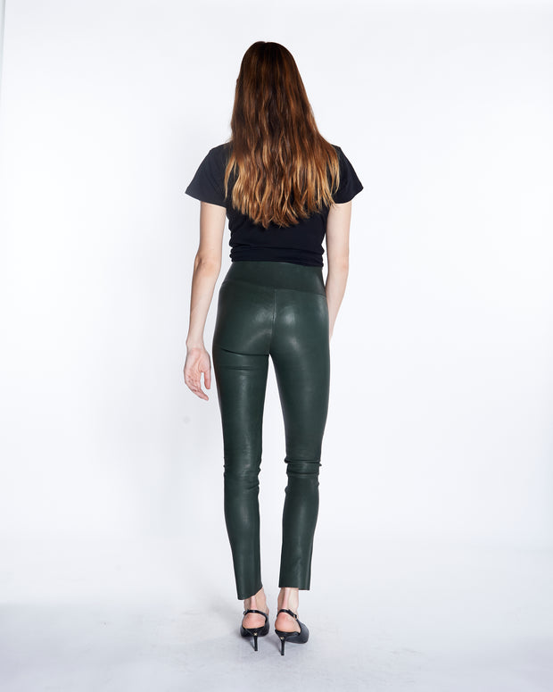 Hunter Ankle Leather Leggings