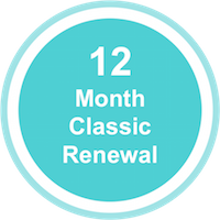 Classic – Fast ForWord123 Home Subscription Renewal – 12 Months