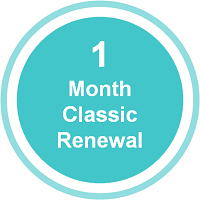 Classic – Fast ForWord123 Home Subscription Renewal – 1 Month