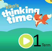 Kiko's Thinking Time 1 term school/early learning centre subscription