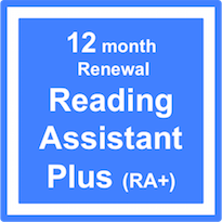 Reading Assistant Plus (RA+) - Subscription Renewal – 12 Months