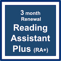 Reading Assistant Plus (RA+) Subscription Renewal – 3 Months
