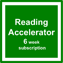 Reading Accelerator 6 week subscription