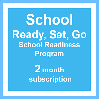 School - Ready, Set, Go 2 month Subscription (with bonus 12 months social skills training*)