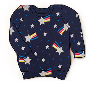 Shooting star pullover