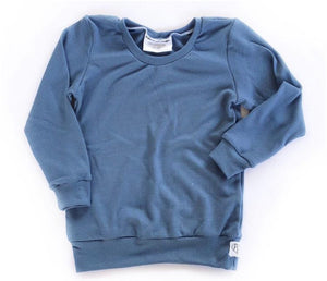 Cobalt thermal pullover