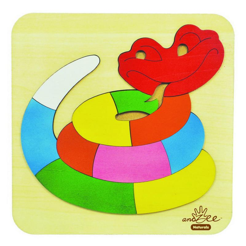 andZee Rainbow Snake Raised Puzzle
