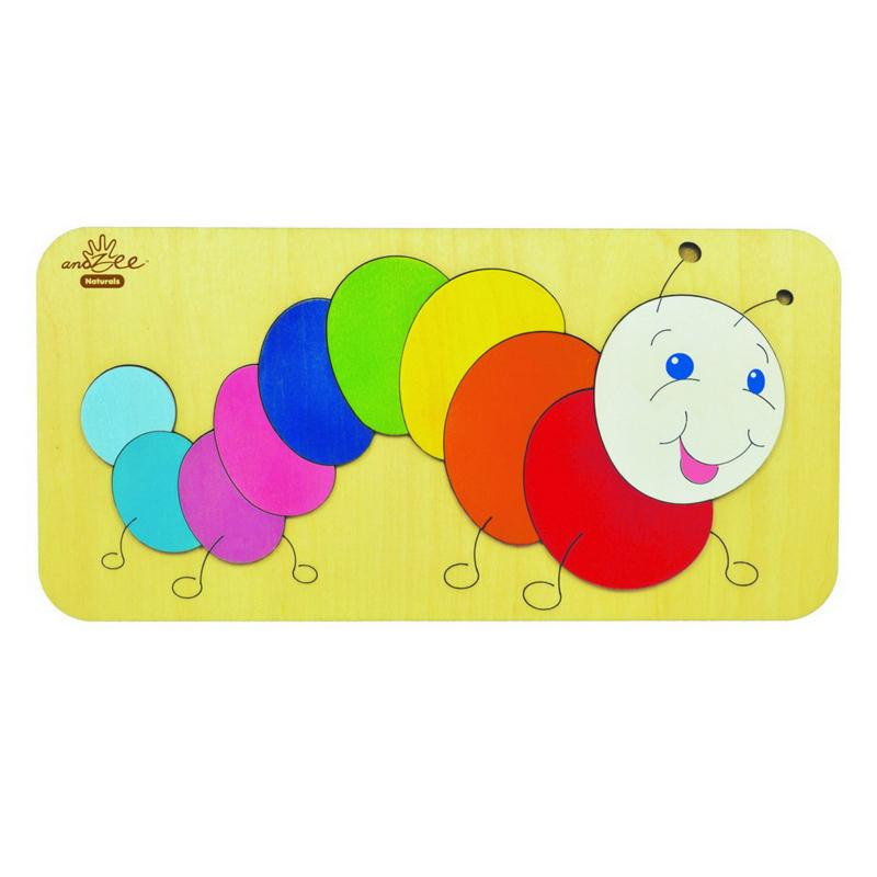 andZee Caterpillar Raised Puzzle