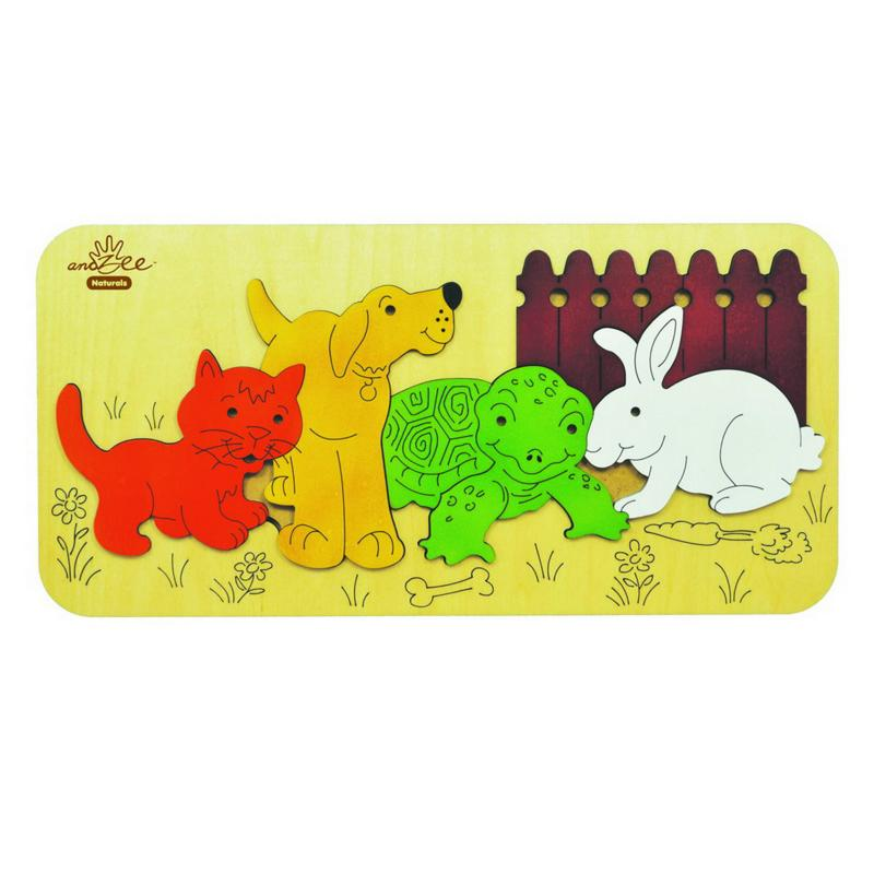 andZee Pet Animals Raised Puzzle