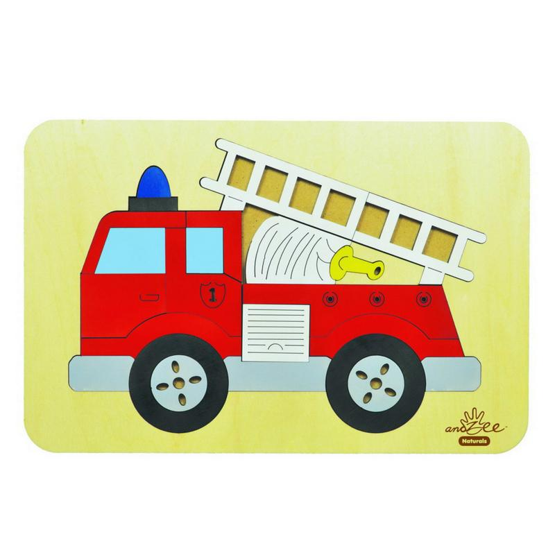 andZee Red Fire Truck Puzzle