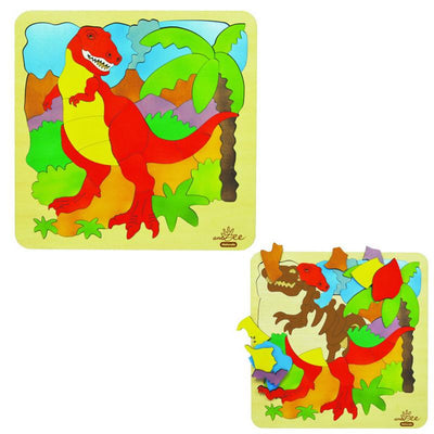 andZee T-Rex & Bones Double Layer Puzzle