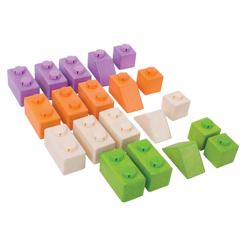 Bigjigs Click Blocks - Basic