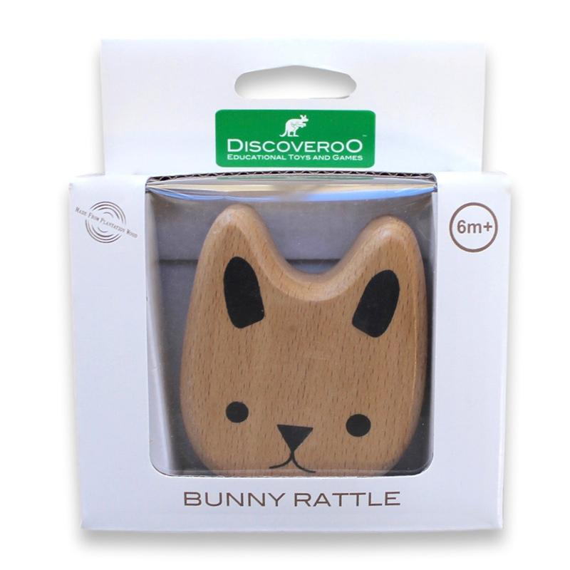 Discoveroo Bunny Rattle