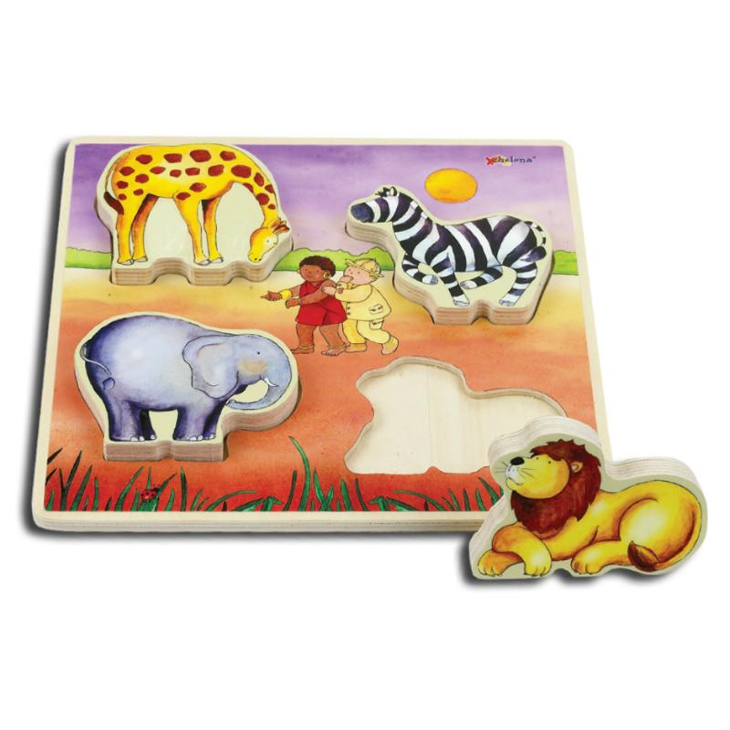 Relief Puzzle - Safari