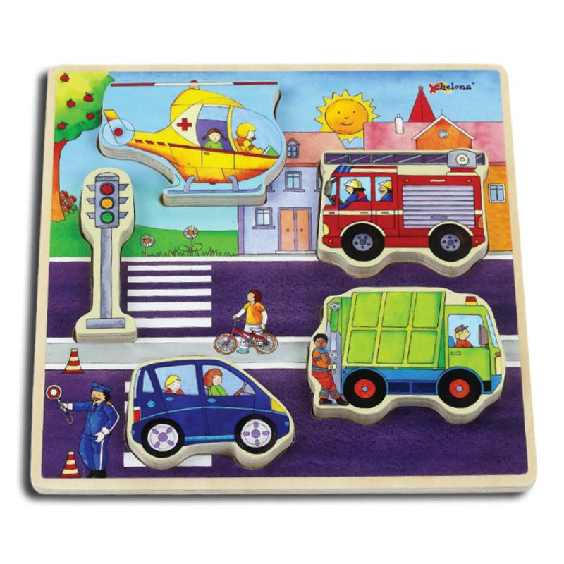 Chelona Relief Puzzle - Traffic
