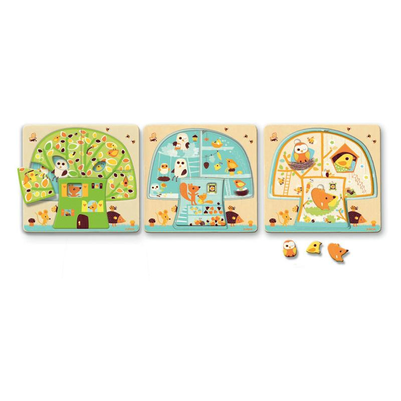 Tree House Layer Puzzle