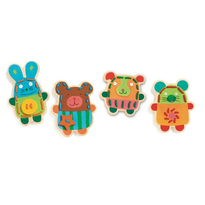 Djeco Cuddly Lacing Animals